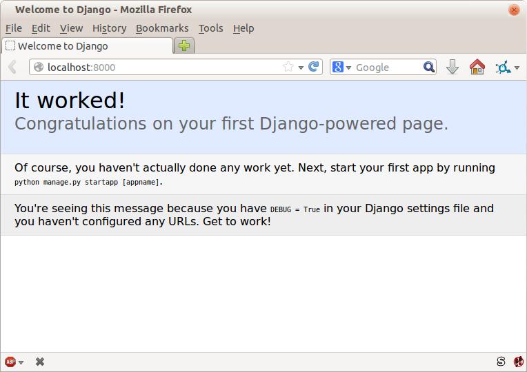 Getting Django Set Up Using a Functional Test